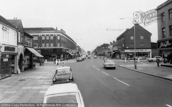 Ilford, Barkingside High Street c.1965, from Francis Frith