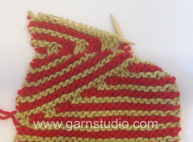 DROPS Knitting Tutorial: How to increase to DROPS 155-1