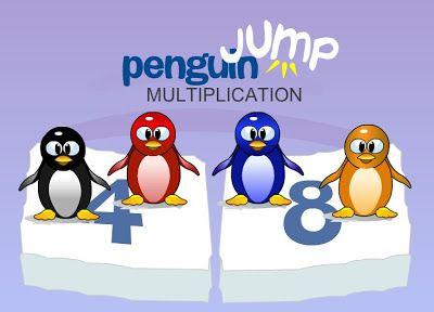 CRADOGU: Las tablas de multiplicar con el pingüino saltador