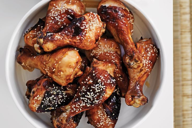 These sticky drumsticks taste delicious but they are so simple and quick to prepare. My teen son loved them!