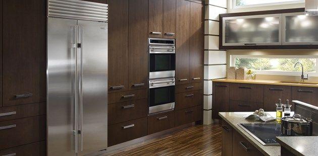 Choosing between a built-in/counter-depth refrigerator or a standard model.  Specialty Appliance Homes   Denver Appliances