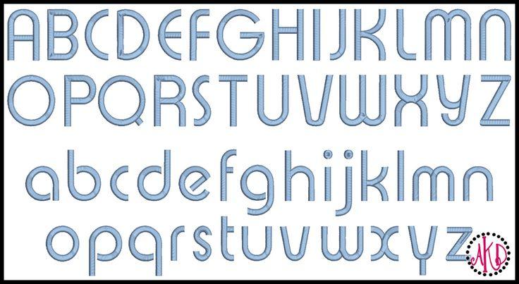 AKDesigns Boutique Machine Embroidery - No 66 Retro Boy Font Machine Embroidery Designs 2 inch high, $6.40 (http://www.akdesignsboutique.com/no-66-retro-boy-font-machine-embroidery-designs-2-inch-high/)