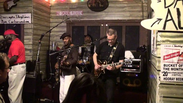 #Linsey Alexander & #John Patelis with Chicago Blues All Stars at #Kings...