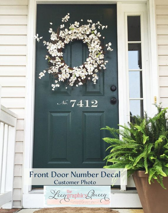 17 Best Ideas About Front Door Numbers On Pinterest