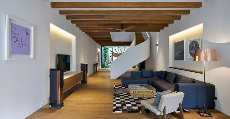 A 100-Year Old Shophouse Gets an Extensive Renovation