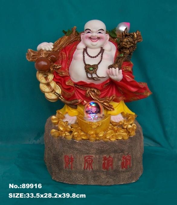 Buddha Water Fountain with Crystal Ball, Ru Yi