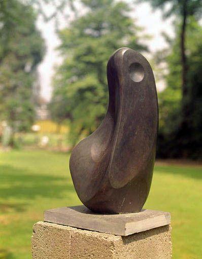 """Barbara Hepworth - """"Coré"""" {1960} ~ Bronze"""