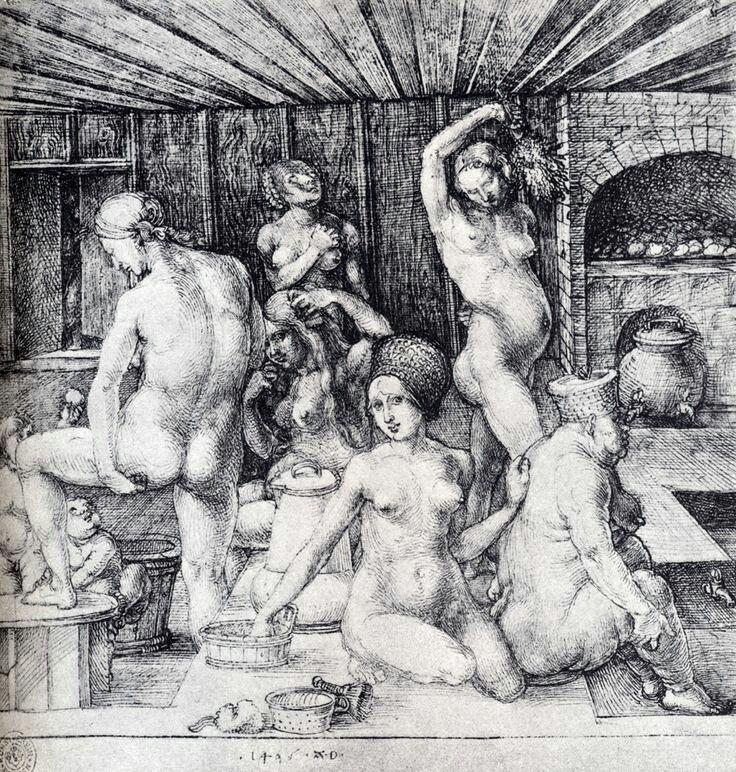 Albrecht Dürer. The Women's bath 1496