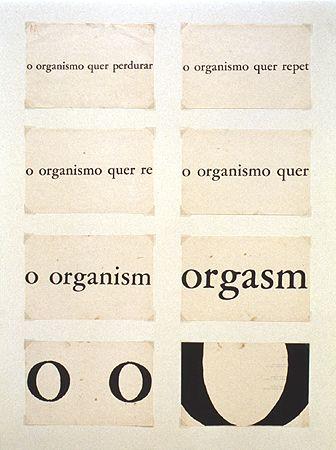 Organismo 1966   Décio Pignatari