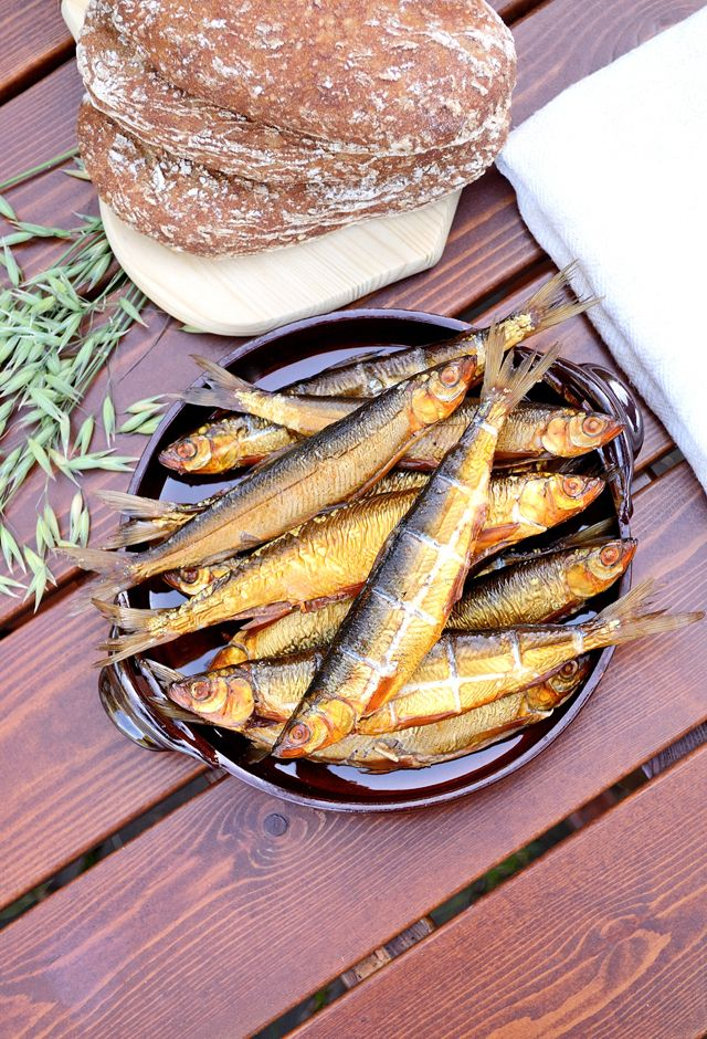 Finnish Delicacy: Smoked Vendace