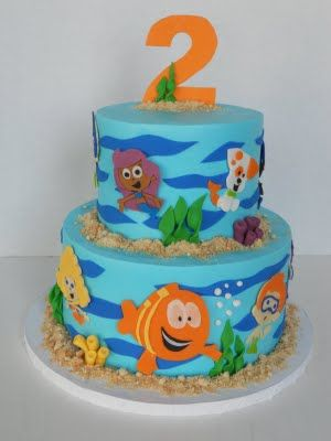 Bubble Guppies...what a cute party idea!