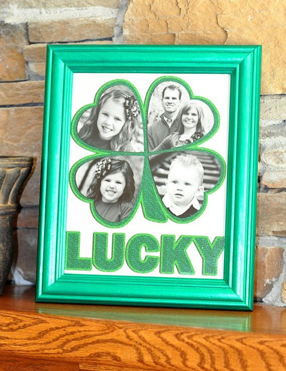 27 of The Greatest St. Patrick�s Day DIY Home Decorations my four grandchildren would fit here perfect.