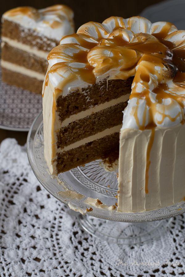 The Sweetest Taste: Tarta de calabaza y caramelo