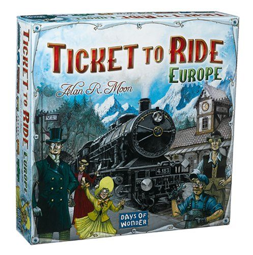 Ticket To Ride – Europe. Read more at http://www.toys-zone.com/ticket-to-ride-europe/