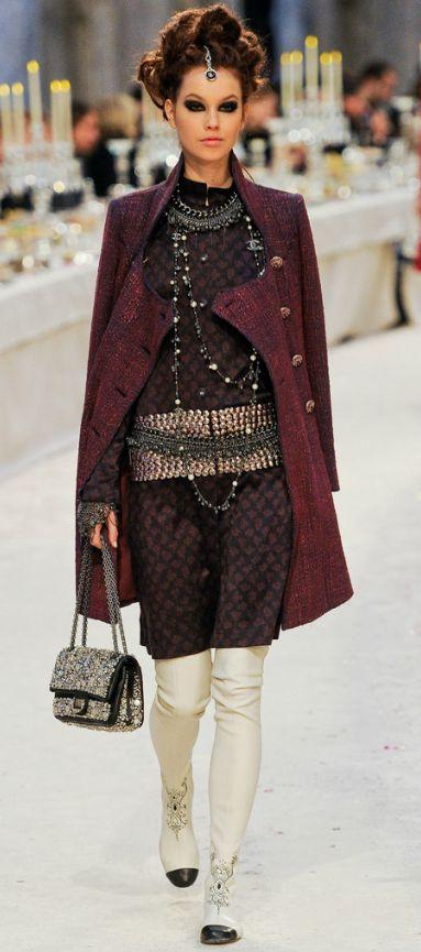 défilé Paris Bombay Chanel