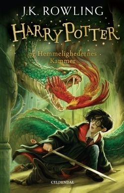 Harry Potter 2 - Harry Potter og Hemmelighedernes Kammer af J. K. Rowling