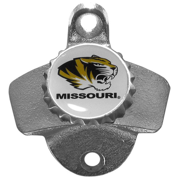 Siskiyou Collegiate Missouri Tigers Wall-mounted Bottle Opener