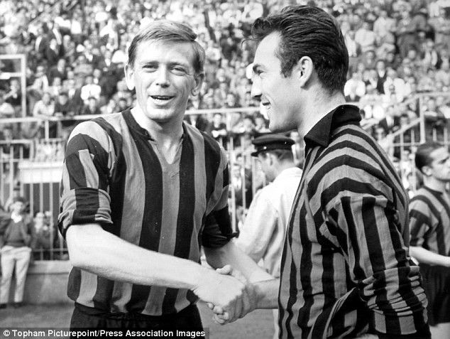 Gerry Hitchins, Jimmy Greaves Milan derby