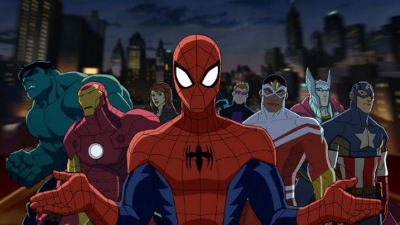 Comic-Con: Disney XD Renews 'Ultimate Spider-Man' (Exclusive Photo)