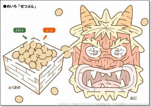 Setsubun maze (oni)