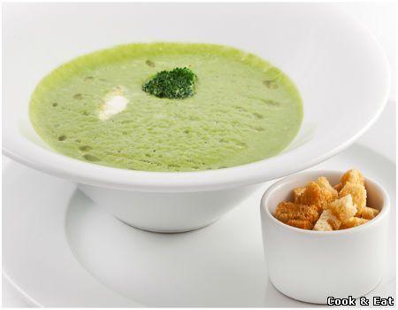Рецепт Кремово-сырный суп из брокколи - Постные блюда - Cook and Eat