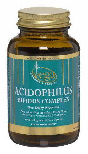 Vega Acidophilus Bifidus Complex - Pack of 120 Capsules Vega http://www.amazon.co.uk/dp/B00CBUCK5A/ref=cm_sw_r_pi_dp_7c7cwb1R9G11F