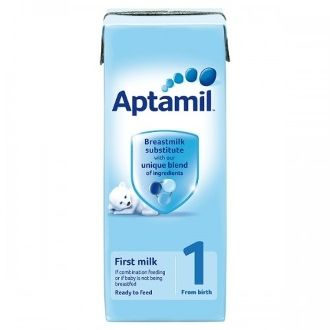 Aptamil 1 First Milk Ready To Feed From Birth 200ml Baby