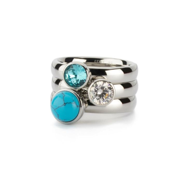 MelanO twisted ringen , mooi turquoise  #melano #twisted #ring #turquoise