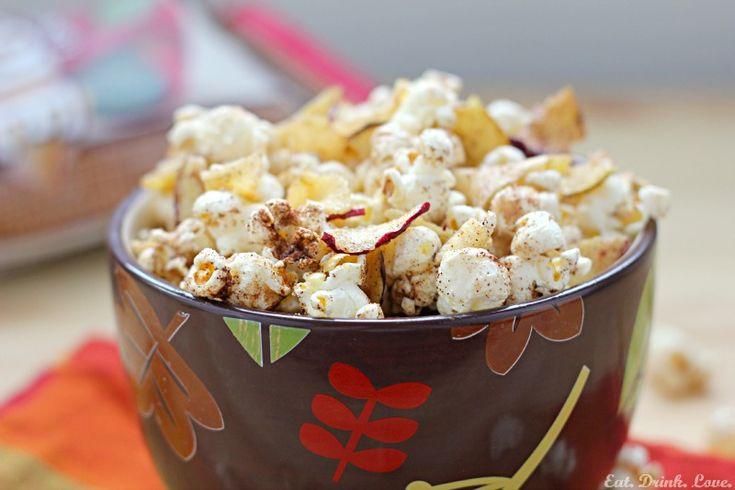 Apple Cinnamon Popcorn {Eat, Drink, Love} - Around My Family Table