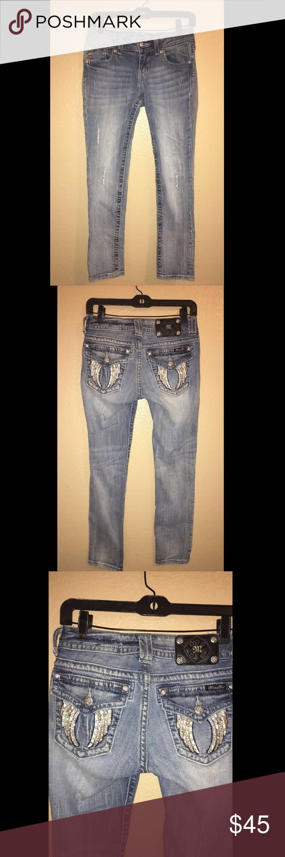 NWOT Miss Mes SZ 27 Ankle Skinnys NWOT Miss Mes SZ 27 inseam: 26in Miss Me Jeans Ankle & Cropped