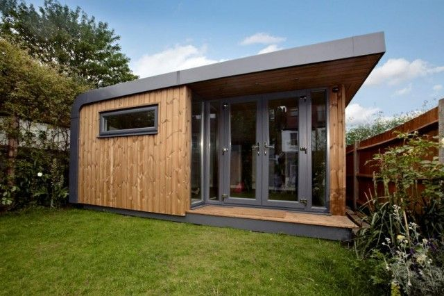 209 best images about garden pods on pinterest for Cedar garden office