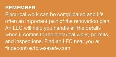 There are specific requirements for an electrician to have both a business licence and a trade qualification in Ontario. These laws are in place to keep you and your family safe from electrical harm. #PowerYourReno