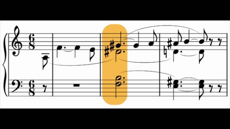 The Tristan Chord              acorde de Tristán es un acorde formado por las notas fa, si, re♯ y sol♯. En general, también se denomina así a cualquier acorde formado con los mismos intervalos musicales, aún en otras tonalidades: partiendo de la nota más grave (fa), una cuarta aumentada (si), una sexta aumentada (re♯) y una novena aumentada (sol♯).  Se trata del primer acorde que se escucha en el movimiento langsam und schmachtend (lento y languideciendo) de la ópera Tristán e Isolda. En la…