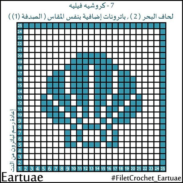 #mulpix  #crochet  #crochet_diagram  #crochet_lessons  #crochet_filet  #pattern…
