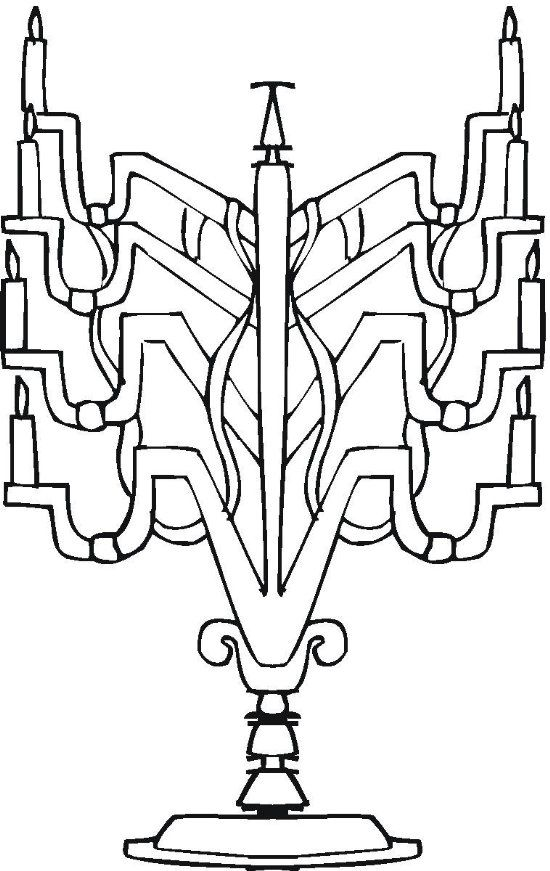 mini coloring pages of hanukkah - photo#15