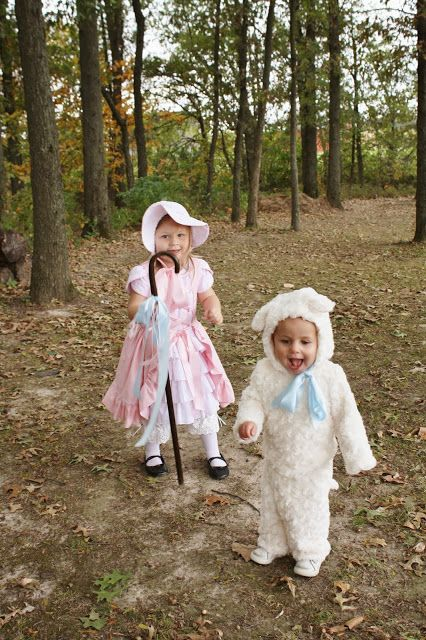 Sweet Pea and Pumkins: Little Bo Peep and Her Little Sheep