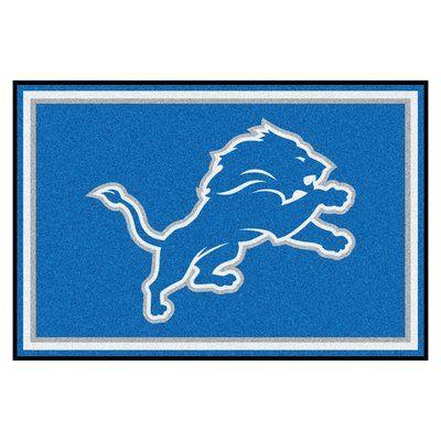 FANMATS NFL - Detroit Lions 4x6 Rug Rug Size: 5' x 8'