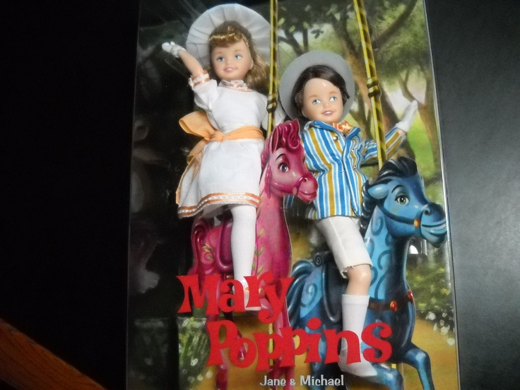 Toys For Mary Poppins : Barbie mary poppins doll jane michael mattel dolls
