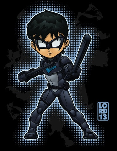 Young Justice Invasion- Nightwing by lordmesa.deviantart.com on @deviantART