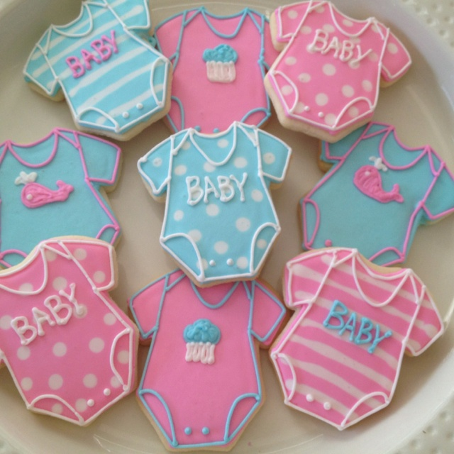 PMB baby cookies for shower!