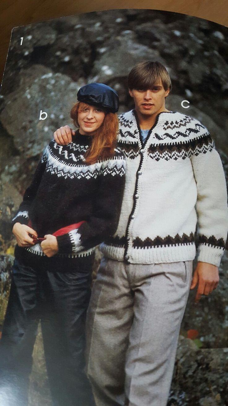 Islands gensere/ Islands sweater.