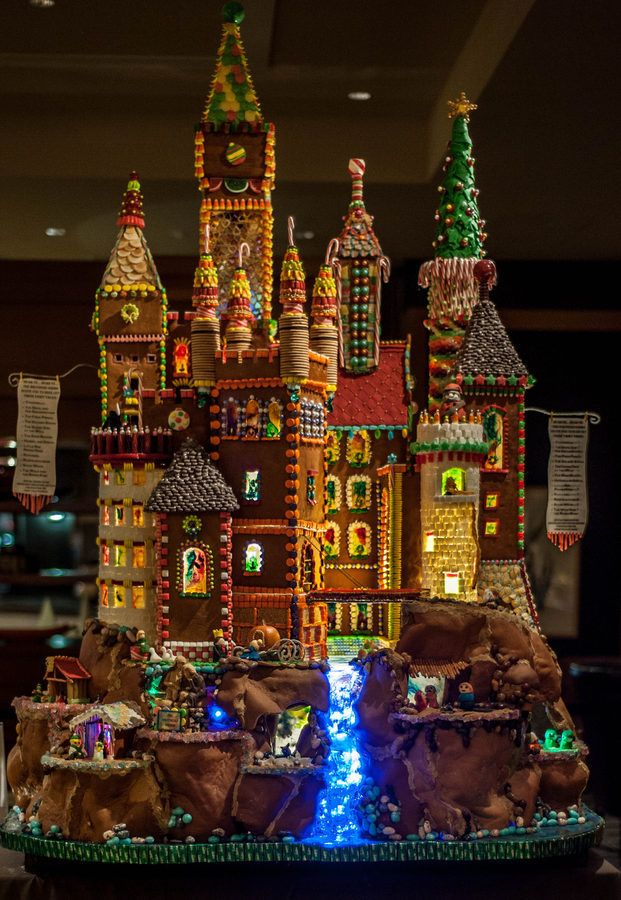 "Sheraton Seattle Gingerbread Village Presents ""Once Upon A Time"" 