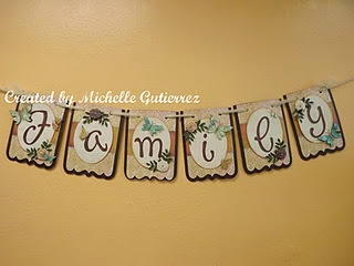 A family banner I made with my Cricut ExpressionBirthday Bash, Family Birthdays, Families Birthday