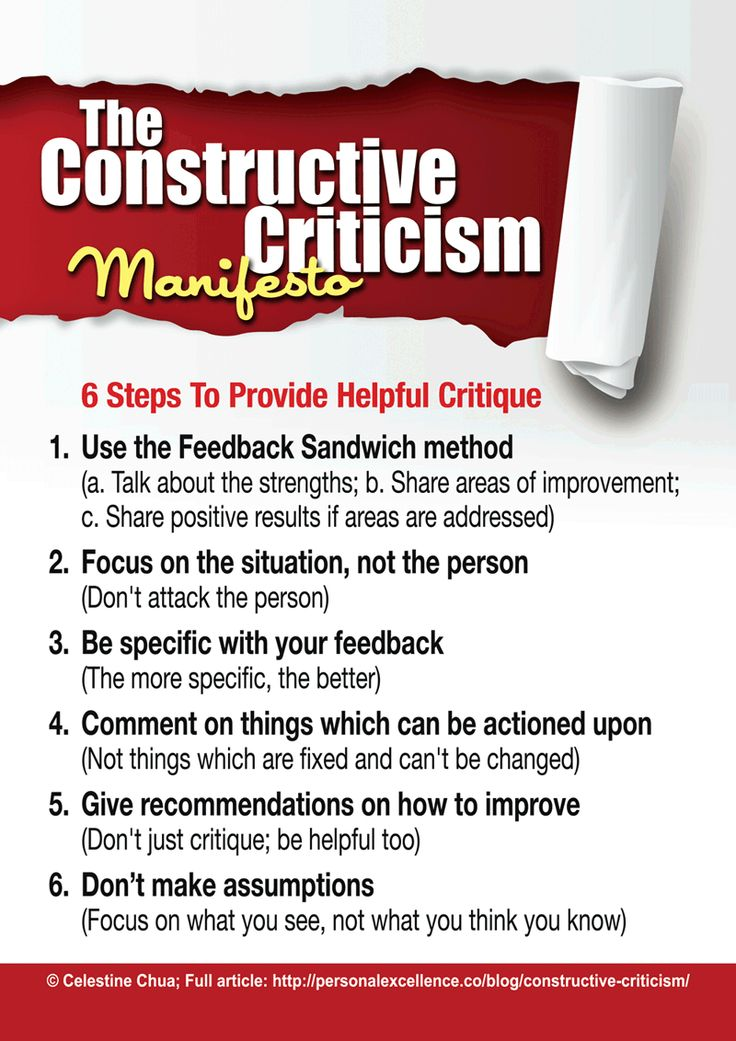criticism quotes | ... article: How To Give Constructive Criticism: 6 Helpful Suggestions