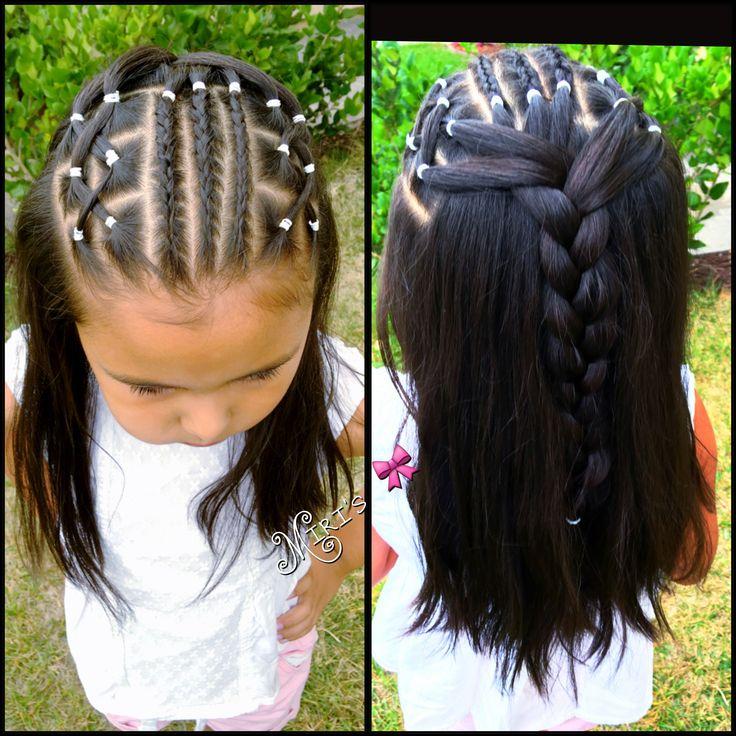 mixed girl hair ideas