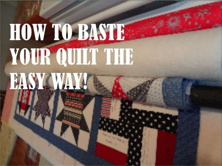 Get up off the floor, sit down and relax. This is the pleasurable way to baste your quilts!