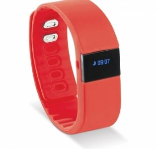 Promotional activity tracker with anti loss alarm