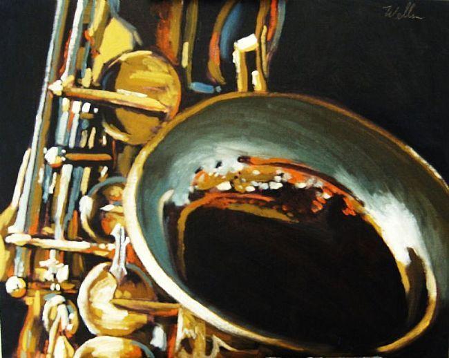 saxophone art: