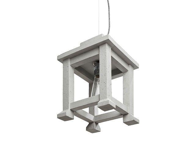 LANTERN concrete lamp design Urbi et Orbi 2014