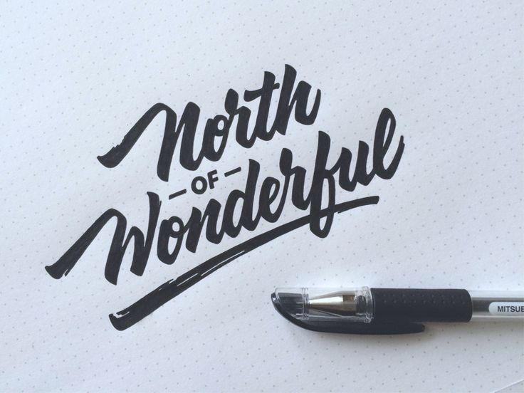 Lettering & Calligraphy Inspiration | #1150